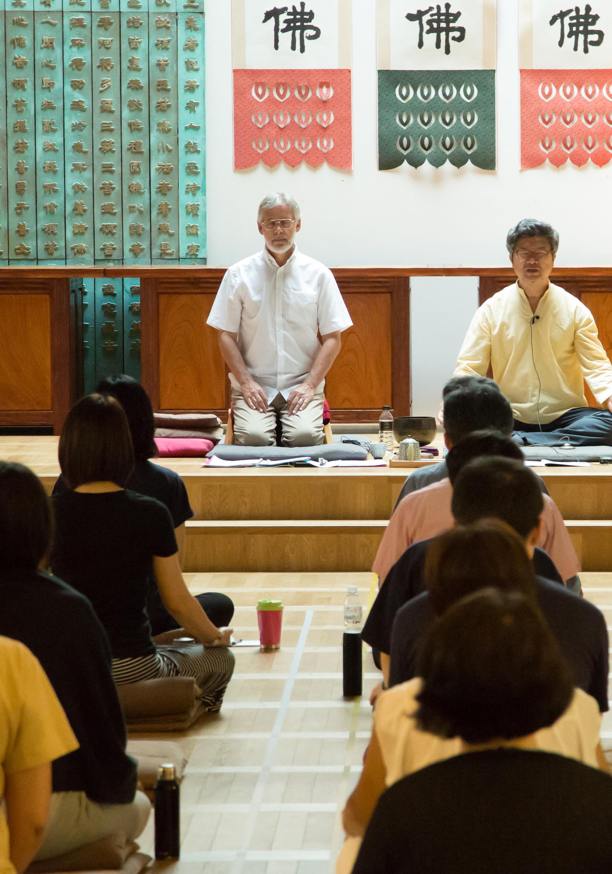 3만원 '명상 캠프' 일찌감치 매진···세계적 대가들, 강남 모인다