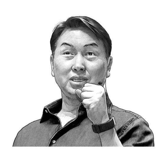 최태원 SK그룹 회장. 일러스트=박용석 기자