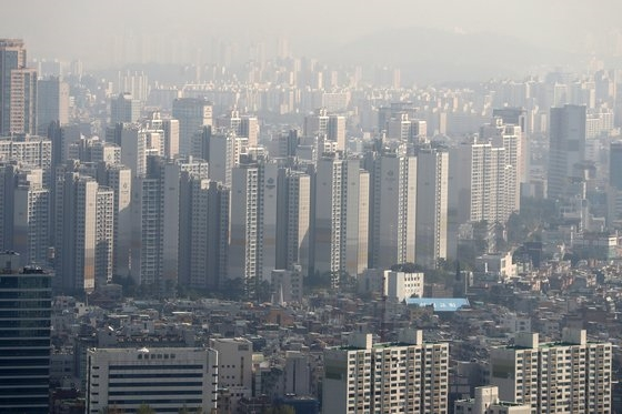서울의 한 아파트 단지. 기사 내용과 무관함. [사진 뉴스1]