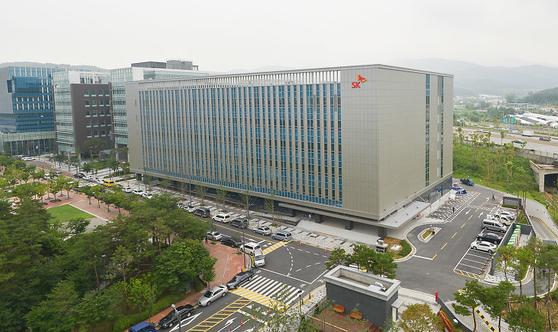 SK㈜ C&C 판교 클라우드 센터. [사진 SK㈜ C&C]