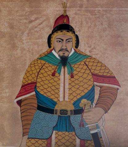 거란과의 귀주대첩을 승리로 이끈 강감찬(姜邯贊)은 처음 관직에 나갔을 때만 해도 별다른 주목을 받지 못했다. 서울 낙성대에 있는 강감찬 장군의 영정. [중앙포토]