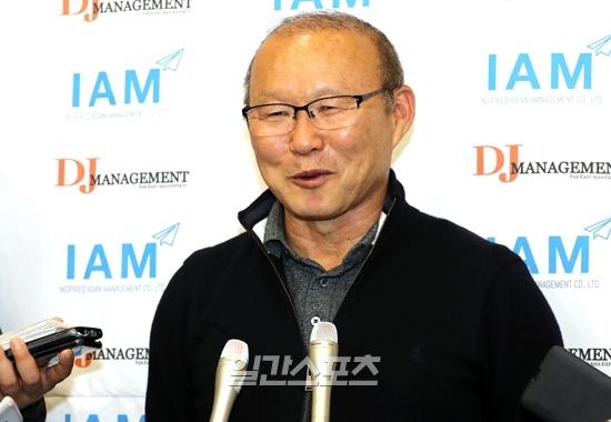 베트남 대표팀과 재계약을 채결한 박항서 감독. IS포토