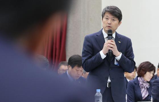 유재수 부산시 경제부시장. 송봉근 기자