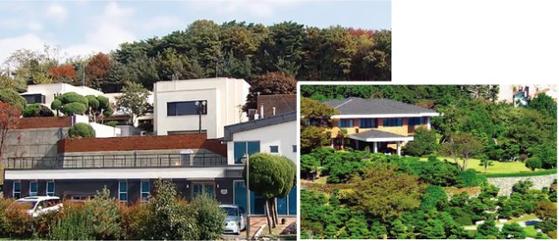 서울 한남동 대법원장 공관(왼쪽) [SBS 비디오머그]