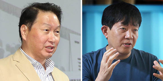 최태원(左), 이재웅(右)