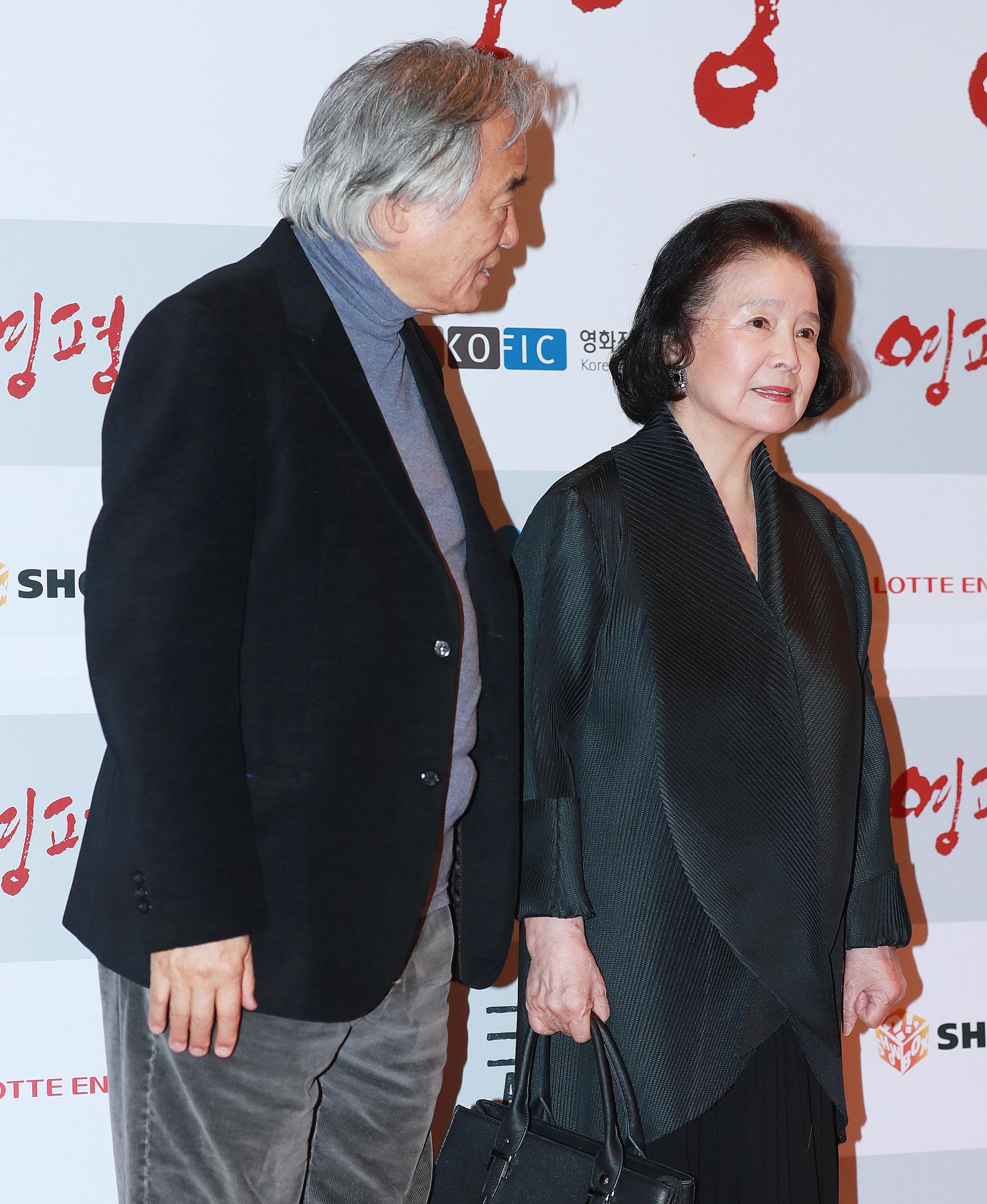 피아니스트 백건우와 배우 윤정희 부부. [일간스포츠]