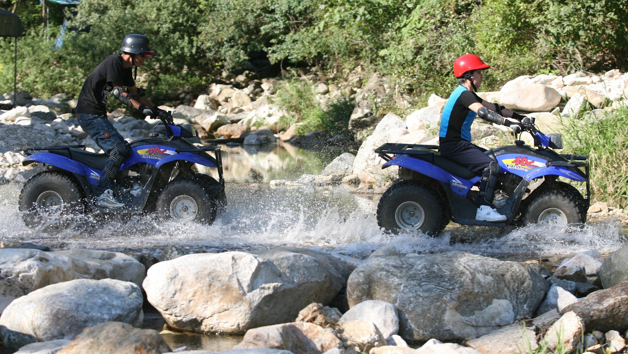 산에서 ATV 운전을 즐기는 모습. 해당 사진은 기사와 관련 없음. [중앙포토]