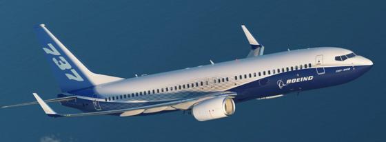 동체에서 균열이 확인된 보잉사의 737NG. 보잉이 개발한 차세대 소형 항공기다. [사진 보잉]