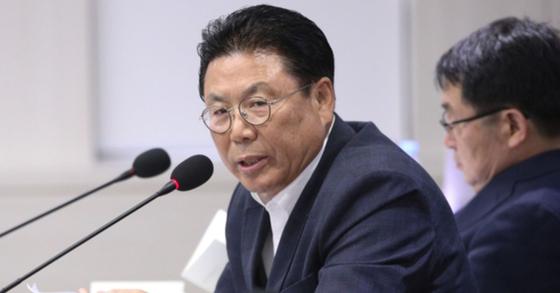 자유한국당 총선기획단장인 박맹우 사무총장. [뉴스1]