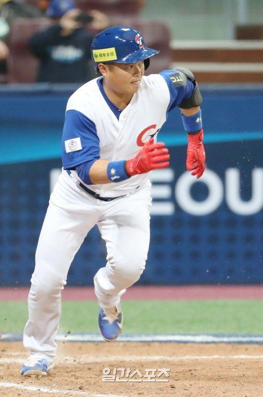 2017년 월드베이스볼클래식에 출전했던 후친룽의 모습