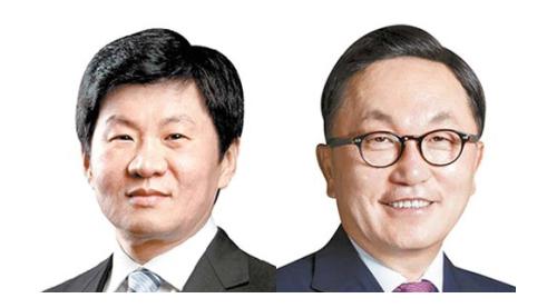 정몽규 회장 (左), 박현주 회장(右)