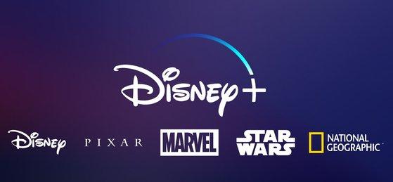 월트디즈니의 OTT서비스 '디즈니+' [중앙포토]