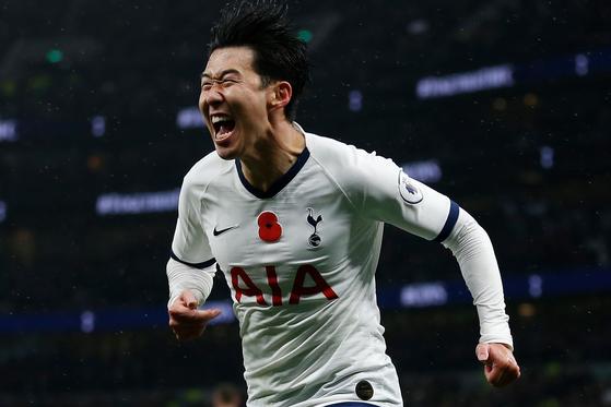 손흥민이 올 겨울 유럽축구이적시장의 주목 받는 카드로 떠올랐다. [AFP=연합뉴스]