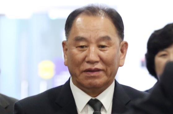 김영철 북한 조선아시아태평양평화위원회 위원장. [연합뉴스]