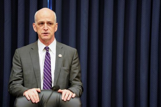 애덤 스미스 미국 하원 군사위원장은 13일(현지시간) 주한미군 주둔이 여전히 필요하다는 입장을 밝혔다. [로이터=연합뉴스]