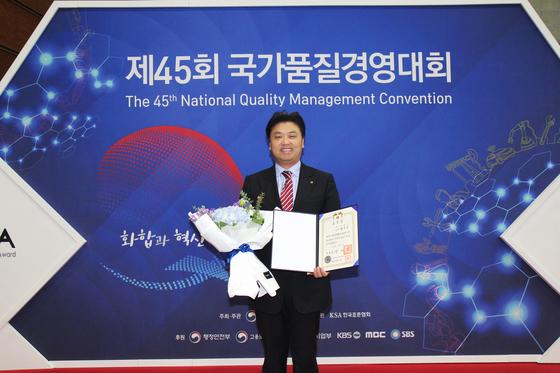 코맥스 국가품질상 5관왕…변우석 사장은 대통령표창
