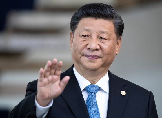 """브릭스 정상회의에 참석 중인 시진핑 중국 국가주석이 홍콩 사태가 악화일로로 치닫자 마침내 """"폭력 저지와 질서 회복""""을 골자로 한 중국 정부의 공식 입장을 14일(현지 시각) 발표했다. [로이터=연합뉴스]"""