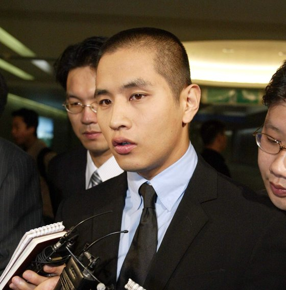 2002년 입국금지 당한 유승준