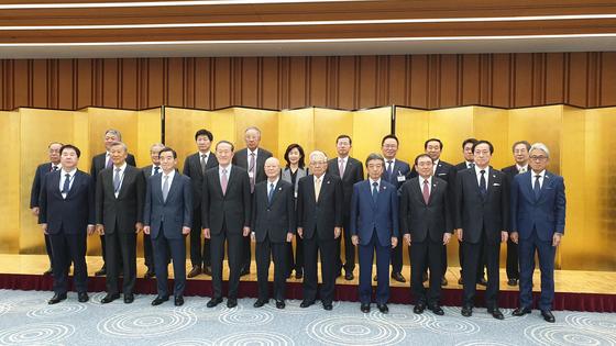韓-日 재계 2년 만에 만났다..어떤 상황에도 민간교류 계속해야 공동성명 발표