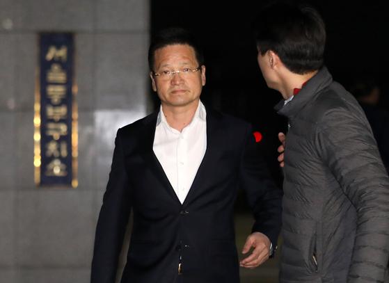 김학의(63) 전 법무부 차관에 '별장 성접대'를 한 의혹을 받는 건설업자 윤중천(58) 씨. [뉴스1]
