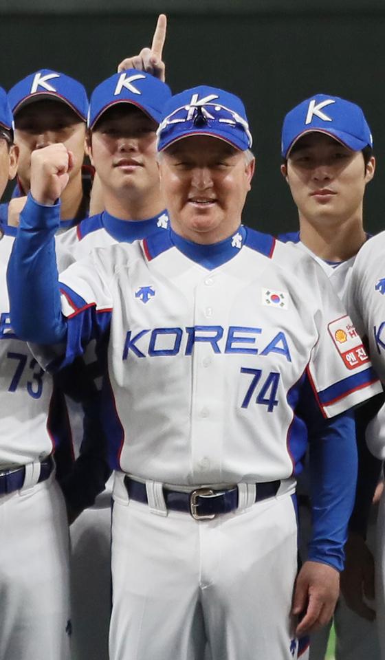 도쿄올림픽 티켓 따낸 김경문 12년 만의 올림픽, 잘 ...