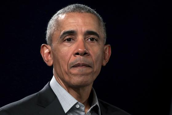 버락 오바마 전 미국 대통령. [AP=연합뉴스]