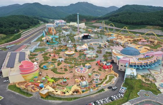 경남 마산로봇랜드 테마파크 전경. [연합뉴스]