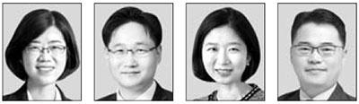 박해영, 최환석, 김정은, 박성만(왼쪽부터)