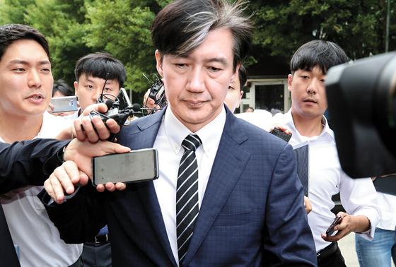 조국 전 법무장관 [연합뉴스]
