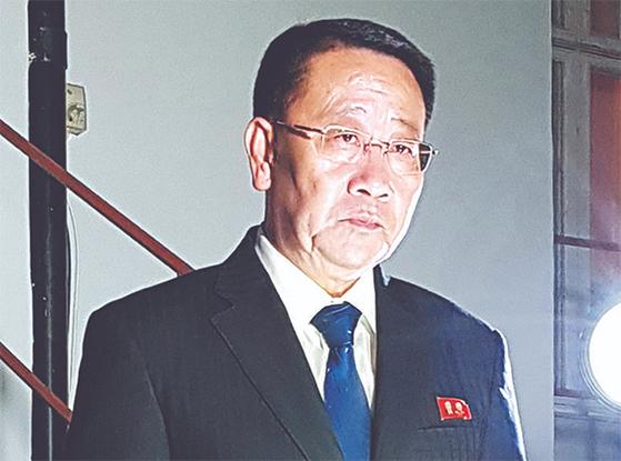 김명길 북한 외무성 순회대사. [연합뉴스]
