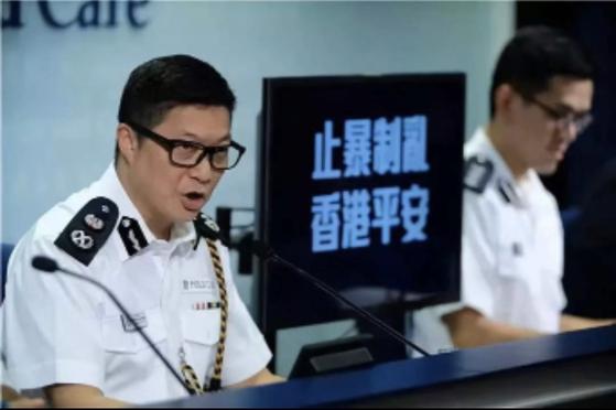 홍콩 시위대 실탄 진압, 배후엔 우산혁명 잠재운 54세 덩빙창