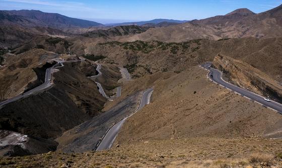 (사진1) 아틀라스 산맥 횡단도로, 2019. [사진 주기중]