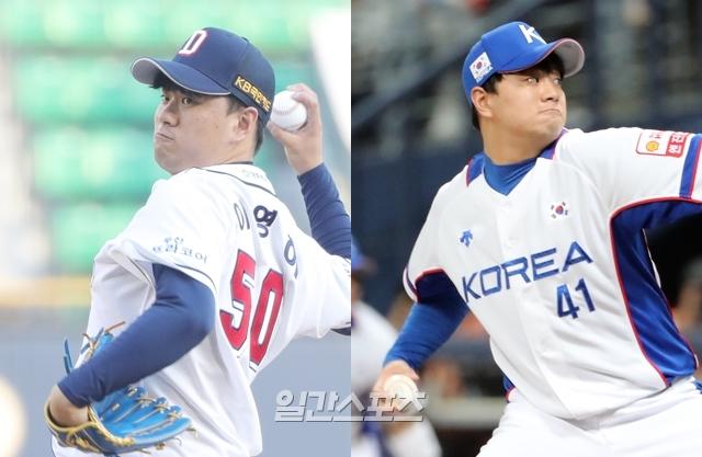2019년 소속팀과 대표팀에서 핵심적인 활약을 펼친 이영하. IS포토