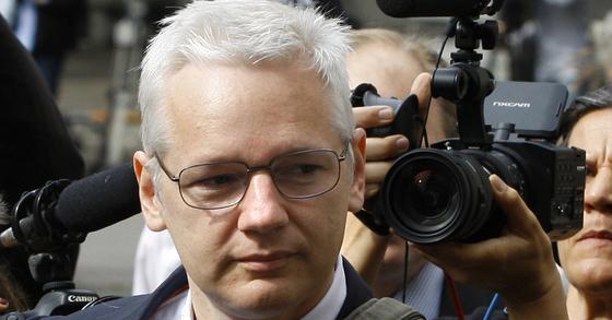 폭로전문 웹사이트 '위키리크스'의 설립자 줄리언 어산지. [AP=연합뉴스]