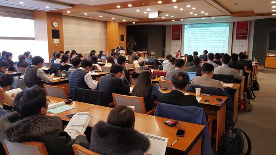 한국무역협회와 차이나랩이 주최한 '2020 한중 비즈니스 전략 포럼'이 20일 무역협회 대회의실에서 열렸다. 약 200여 명의 청중이 참가했다. / 차이나랩 한우덕