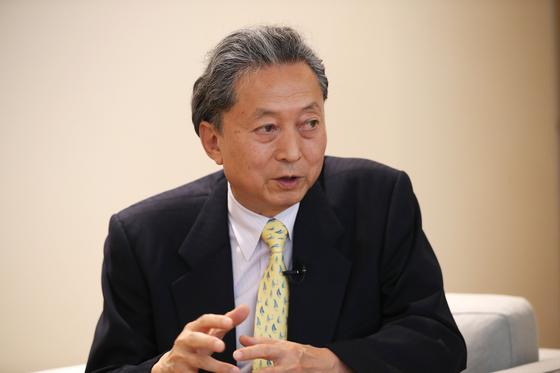하토야마 유키오 전 일본 총리. 오종택 기자