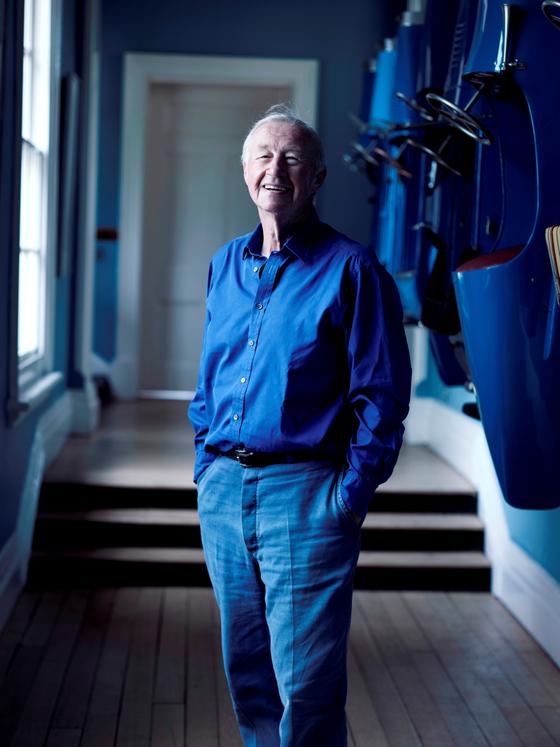 올해 88세의 디자인 거장, 테렌스 콘란 경은 1950년대 이후 영국인들의 라이프 스타일을 획기적으로 바꾼 인물로 거론된다. [사진 더 콘란샵]