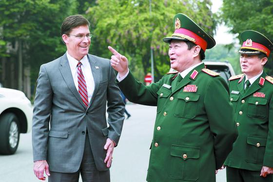 베트남 간 에스퍼 미 국방
