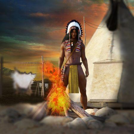 땅덩어리가 넓은 북미대륙에서 인디언 부족은 빠른 속보로 걸어야 사냥하거나 목적지에 도달할 수 있었다. 그래서 장거리 주행에 알맞은 인디언의 보법이 생겼다. [사진 pixabay]