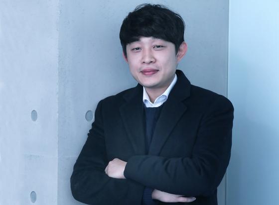 아파트 하자점검 대행 스타트업 홈체크의 이길원 대표가 19일 서울 중앙일보 본사에서 인터뷰를 하고 있다. 최승식 기자