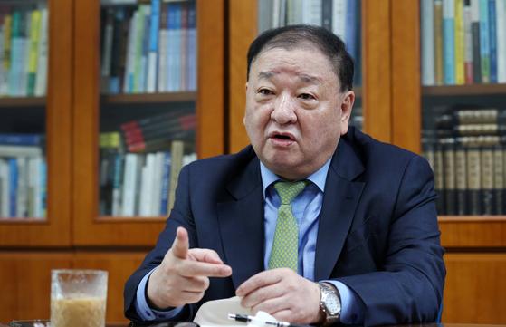 강창일 더불어민주당 의원. 김상선 기자
