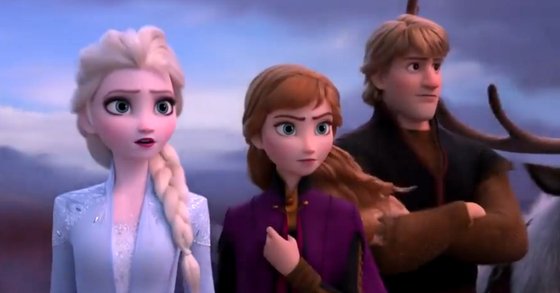 '겨울왕국2'가 21일 개봉했다. [사진 월트디즈니컴퍼니코리아]