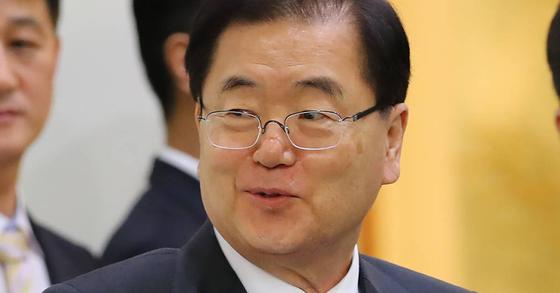정의용 청와대 국가안보실장 [연합뉴스]