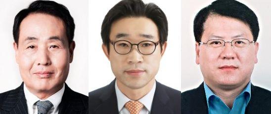 왼쪽부터 김형종 현대백화점 대표, 윤기철 현대리바트 대표, 김민덕 한섬 대표