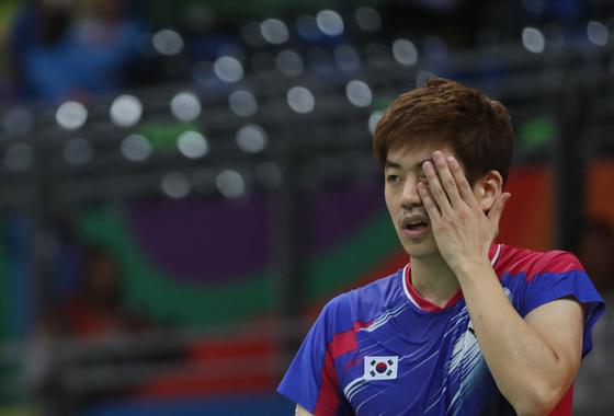 2016 리우데자네이루 올림픽에 출전한 이용대 선수. [연합뉴스]