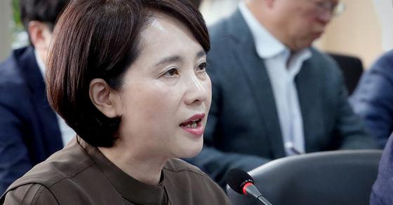 유은혜 사회 부총리 겸 교육부장관. [뉴스1]