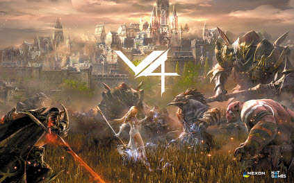 넥슨의 신작 모바일 게임 V4가 출시 초반부터 이용자들의 호응을 얻고 있다. 이런 인기에 힘입어 V4의 PC 버전이 12월에 출시된다. [사진 넥슨]