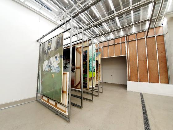 이주요 '러브 유어 디포'. 향후 작가가 실제로 구현하고자 하는 미술관의 창고 시스템에 대한 견본모델을 선보였다. [사진 국립현대미술관]