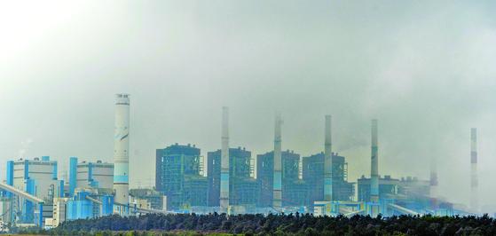 충남 보령 석탄화력발전소. [중앙DB]