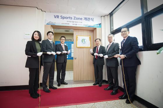 성균관대 스포츠과학대학 스포츠융복합 연구 VR Sports Zone 개관